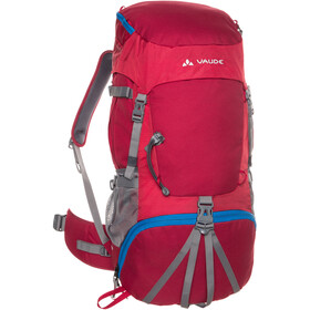 VAUDE Hidalgo 42+8 reppu Lapset, indian red